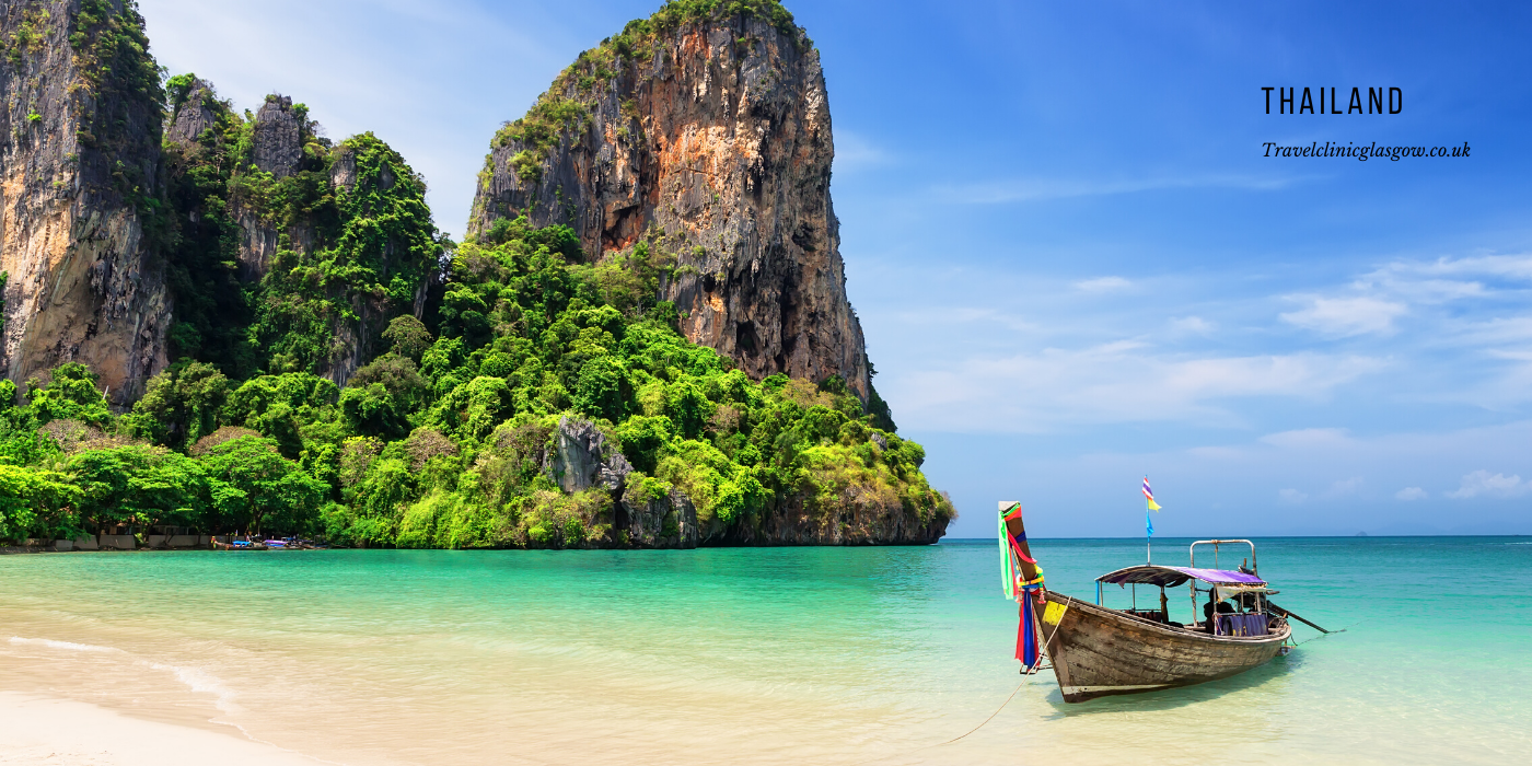 travel vaccinations for Thailand