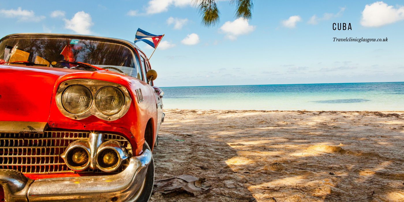 travel vaccinations for Cuba